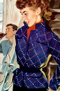 Woman's Argyle Jacket Pattern
