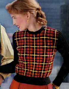 Wallace Tartan Pullover Pattern