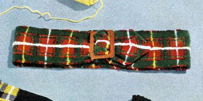 MacPhee Tartan Belt Pattern