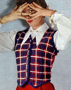 Hamilton Tartan Vest Pattern