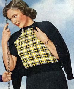 Barclay Tartan Pullover Pattern