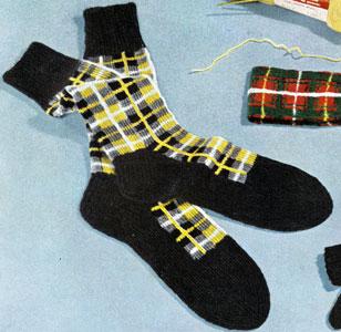Barclay Tartan Socks Pattern