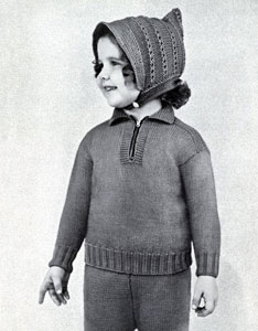 Snow Suit and Hood Pattern