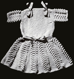 Knitted Swing Dress Pattern