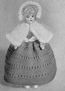 Cape and Hood Doll Pattern #555