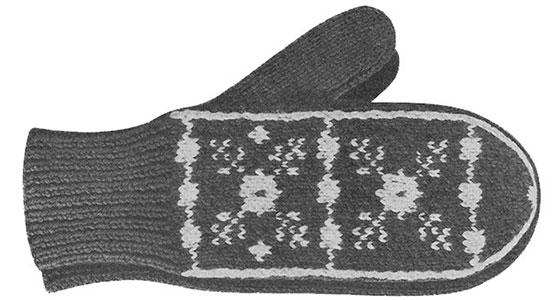Mitten Pattern #507