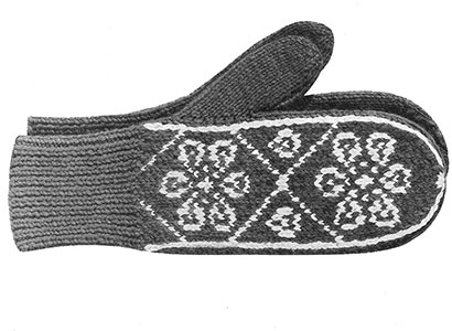 Mitten Pattern 512 Knitting Patterns
