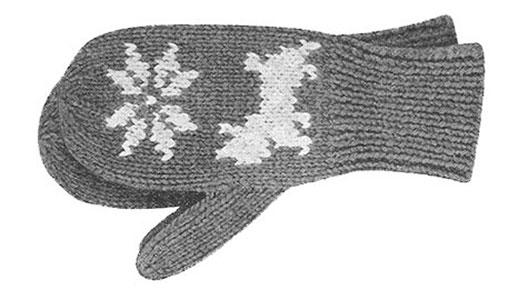 Mitten Pattern #515
