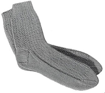 Mens Socks Pattern, No. 611