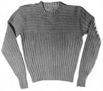 Ribbed Pullover Pattern #832