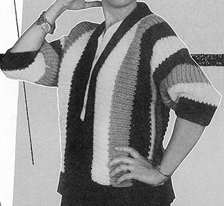 California Casual Cardigan Pattern #904