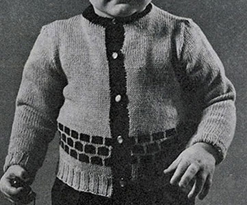 Boys Cardigan Pattern #924