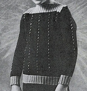 Boys Cable Knit Sweater Pattern #927