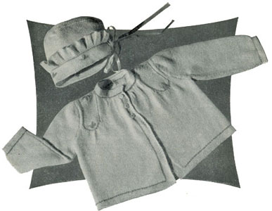 Saque & Bonnet Pattern