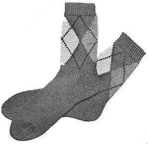 Mens Slack Socks Patterns #600