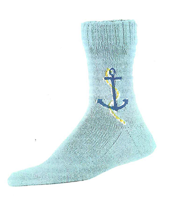 Anchor Socks Pattern #7226