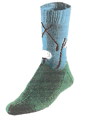 Hole-in-One Golf Socks Pattern #7235