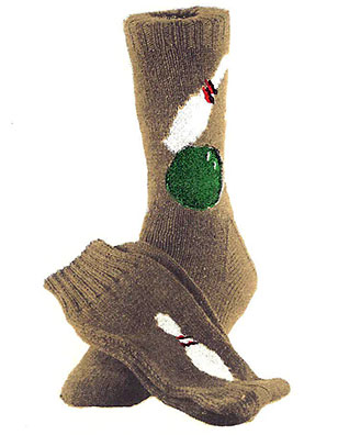 Bowling Socks Pattern #7239
