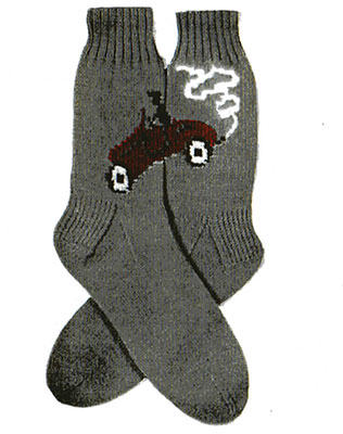 Hot Rod Socks Pattern #7251