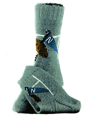 Football Touchdown Socks Pattern #7253