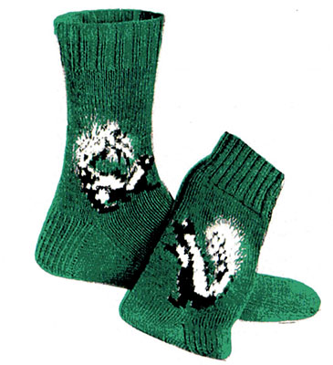 Skunk Socks Pattern #7269 profile