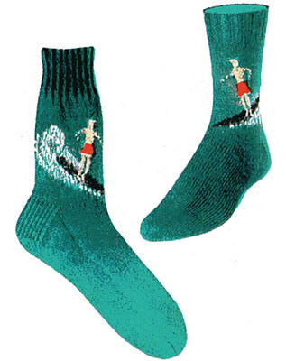 Surf Rider Socks Pattern #7271 profile