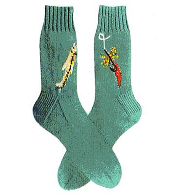 Fishin' Socks Pattern #7273