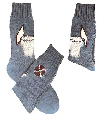 Basketball Socks Pattern #7276
