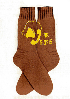 Call-My-Number Socks Pattern #7278