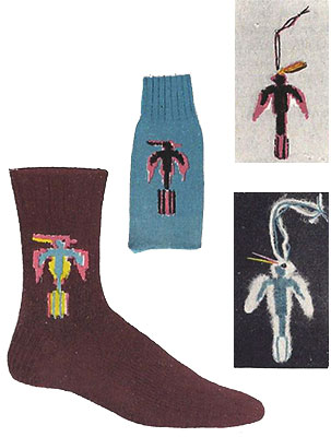 Thunderbird Socks Pattern #7296