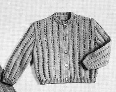 Lacy Cardigan Pattern