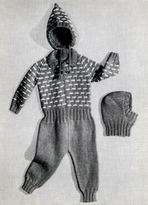 Snow Suit Pattern