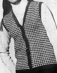 Tweed Vest Pattern