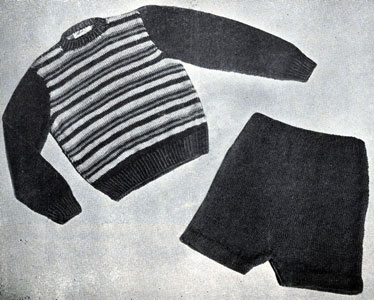 Boy's Suit Pattern