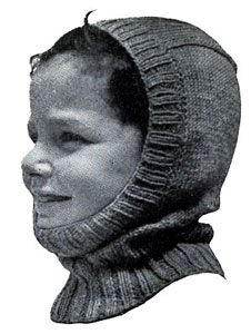 Helmet Pattern Size 4-6 Knitting Patterns