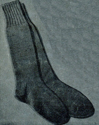 Plain Socks Pattern