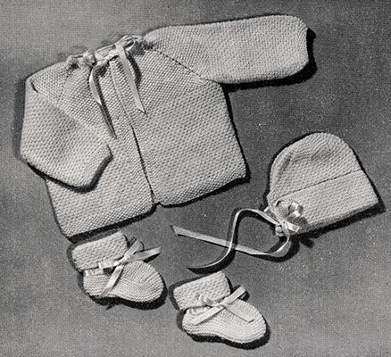Baby Set Pattern #753