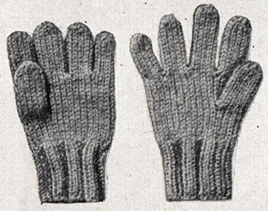 Children's Gloves Pattern #762