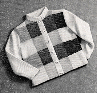Block Jacket Pattern #767