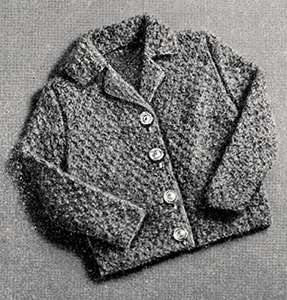 Tweed Jacket Pattern #768