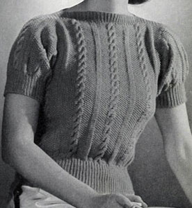 Martinez Imported Cashmere Blouse Pattern