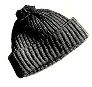 Man's Skating Hat Pattern