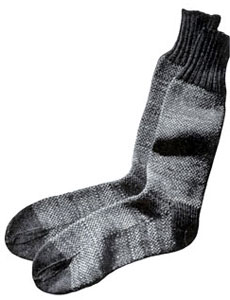Tweed Tone Socks Pattern