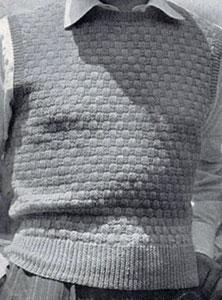 Basket Weave Pullover Pattern