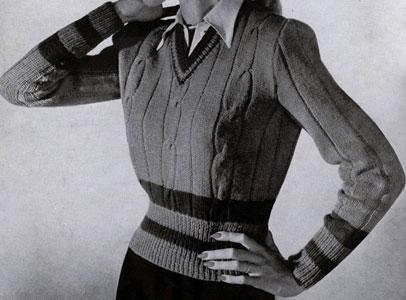 Tennis Pullover Pattern