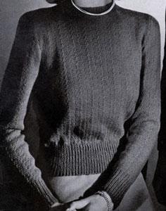 Sport Yarn Pullover Pattern