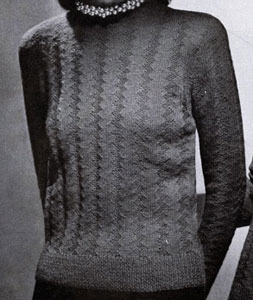 Pullover Pattern