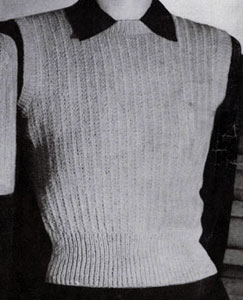 Sleeveless Pullover Pattern