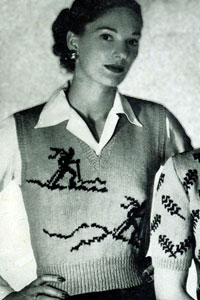 Scandinavian Sweater Pattern No. 5301