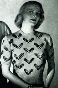 Scandinavian Sweater Pattern No. 5302